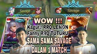 Download Video RRQ LEMON (KAGURA) & RRQ TUTURU (FANNY) SAMA2 SAVAGE Dalam 1 MATCH | sstt Ternyata ini GB SAVAGE MP3 3GP MP4