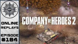 Company of Heroes 2 Online Replays #184 - Flip Flop on Hill Tops