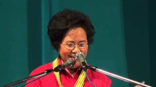 Miriam drops pickup lines at proclamation rally