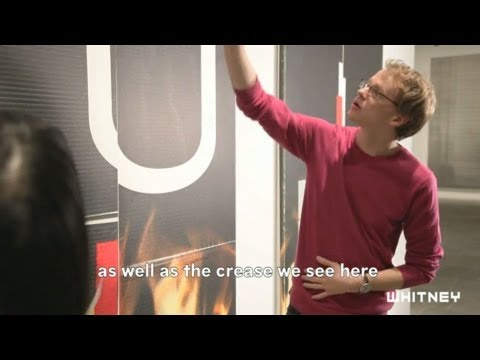 Vlog: Wade Guyton OS