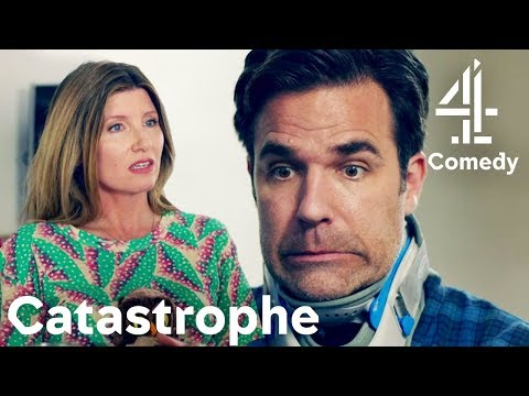 Making a Friend at Alcoholics Anonymous | Catastrophe | Comedy with Rob Delaney & Sharon Horgan