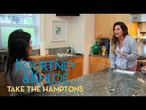 Kourtney & Khloe Take the Hamptons 1.10 Clip 'Kourtney Rips Sisters for Alcohol Mishap'