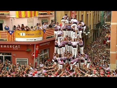 Ισπανία: Χιλιάδες στο «φεστιβάλ των ανθρώπινων πύργων» στην Ταραγόνα