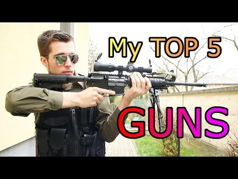 TOP 5 Guns of my Collection for Fun and Self Defense [HD]