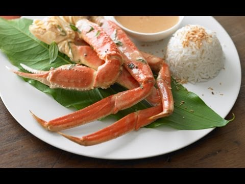 epicuriousdotcom - CIA Chef Michael Skibitcky creates a fragrant and spicy red curry that pairs perfectly with sweet Alaska snow crab. The crab clusters make a stunning present...
