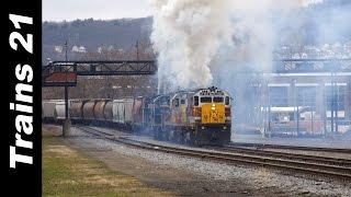 Video 5 ALCO Diesels Hit Their Train.... HARD! MP3, 3GP, MP4, WEBM, AVI, FLV Juli 2018