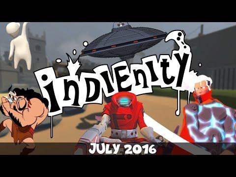 Indienity #19: Top 10 - Инди игры (Июль 2016) / Indie Games (July 2016)