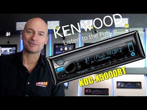 Kenwood KDC- X 5000 BT -REVIEW- Autoradio mit Bluetooth und Android-Music