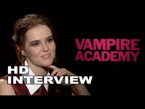 Vampire Academy: Zoey Deutch Official Movie Interview