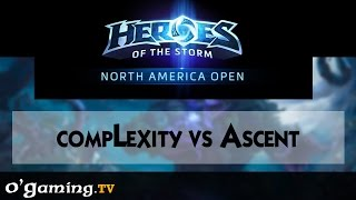 compLexity vs Ascent - Road to Blizzcon - NA Open - Qualifiers Day 2