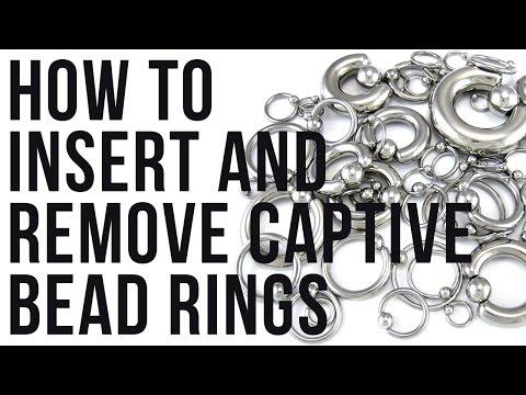 How To Insert & Remove Captive Bead Rings | UrbanBodyJewelry.com