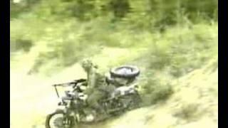 6. Ural Sidecar Motorcycle Military Demo