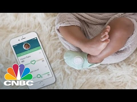 Owlet Baby Sock Could Save Your Child's Life | The Pulse | CNBC