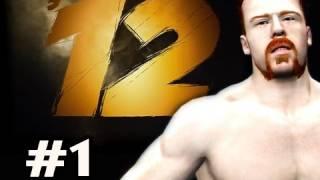 WWE 12 : Road To Wrestlemania - Villain Story Sheamus Ep.1