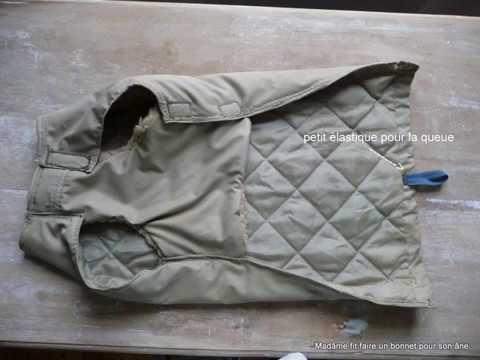 Tuto : comment coudre facilement des manteaux pour chiens dans des vieilles vestes