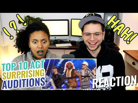 Top 10 Most Surprising America's Got Talent Auditions | REACTION
