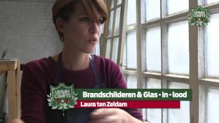 Laura ten Zeldam – Travail de l'émail et du vitrail