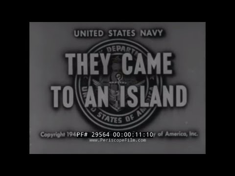 """THEY CAME TO AN ISLAND"" U.S. NAVY CIVIL ENGINEER CORPS  WWII SEABEES CONSTRUCTION BATTALIONS 29564"