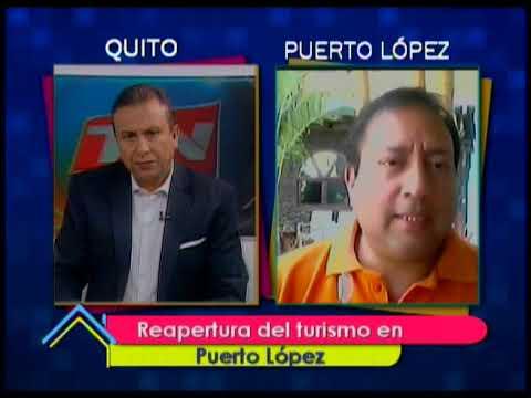 Reapertura del turismo en Puerto López