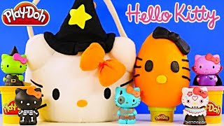 HELLO KITTY SURPRISE BASKET - Play Doh Egg Mermaid Princess Pets Sofia MLP LPS Peppa Pig Toys - YouTube