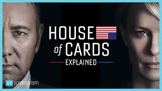 House of Cards gets its power from a few key elements: the Shakespearean magnitude, historical and present political mirrors, the dark and extra-dirty world, and the guilty pleasure of rooting for its deliciously wicked central couple. This contains Spoilers for Seasons 1-4 (no Season 5 spoilers). Sign up to our email newsletter for updates on new videos, fun film trivia, giveaways, longform content, events and more! http://bit.ly/2oVVB1QIf you like this video, subscribe to our YouTube channel for more: http://www.youtube.com/c/ScreenprismLike ScreenPrism on Facebook: http://www.facebook.com/screenprismFollow ScreenPrism on Twitter: http://twitter.com/screenprismVisit ScreenPrism.com: http://screenprism.com/