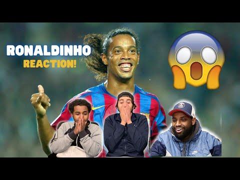 Mandem REACT to Ronaldinho!   Ronaldinho - Football's Greatest Entertainment   Half A Yard Reacts
