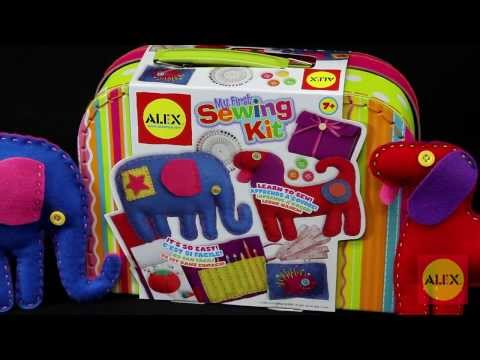 ALEX Toys - My First Sewing Kit 195WN