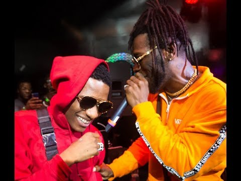Wizkid Give Burnaboy A Surprise Appearance At His Outside Album Listening Party