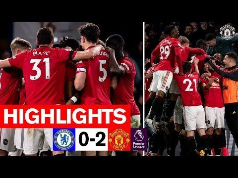 Highlights  Chelsea 0-2 Manchester United  Premier League 201920