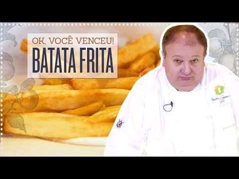 AMO E ODEIO BATATA FRITA! | ERICK JACQUIN