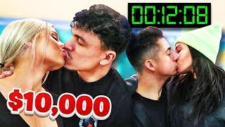 Last To Stop Kissing Wins $10,000 - Challenge