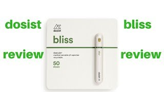 Dosist Bliss Vape Cartridge Review by  Weeats Reviews