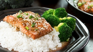 Baked Sesame Salmon Recipe by Home Cooking Adventure