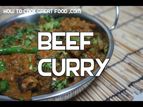 Delicious Beef Curry Recipe Indian Masala