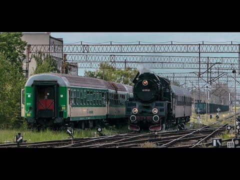 Wideo1: Reaktywacja ruchu planowego parowozem na linii Wolsztyn - Leszno