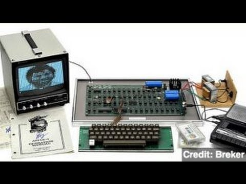 Original 'Apple 1' Computer Sold for Nearly $700K
