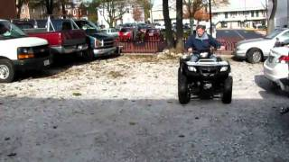 2. Suzuki 2005 ATV Vinson Automatic 500 4x4 FOR SALE 3,000