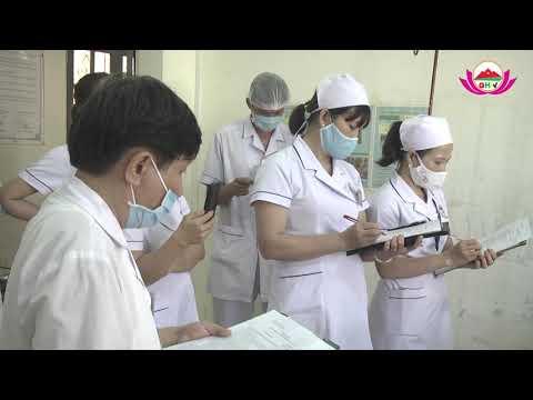 Hội thi thực hành điều dưỡng, hộ sinh, kỹ thuật viên giỏi năm 2020.