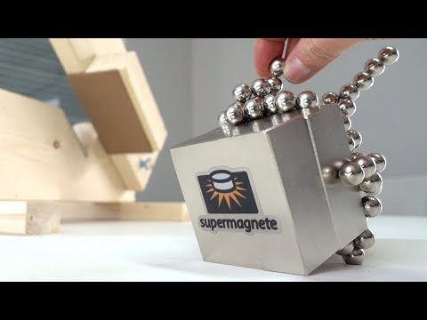 Separating Strong Neodymium Magnets | Magnetic Games (видео)