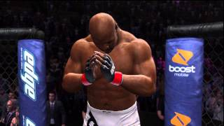 UFC Undisputed 3 Gameplay: Brock Lesnar Vs. Bob Sapp
