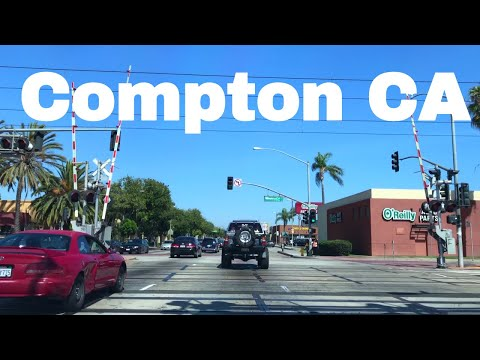 🔴  Compton Realtor Driving Tour 4K