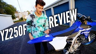 5. FULL REVIEW: My New 2018 YZ250F