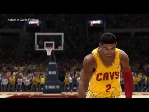NBA Live 14 Cover Athlete Is Rookie of the Year Kyrie Irving