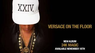 Bruno Mars - Versace on The Floor [Official Audio][Lyrics/Subtitulado al Español/Inglés]