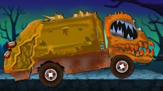 Video scary garbage truck | formation and uses for children MP3, 3GP, MP4, WEBM, AVI, FLV November 2017