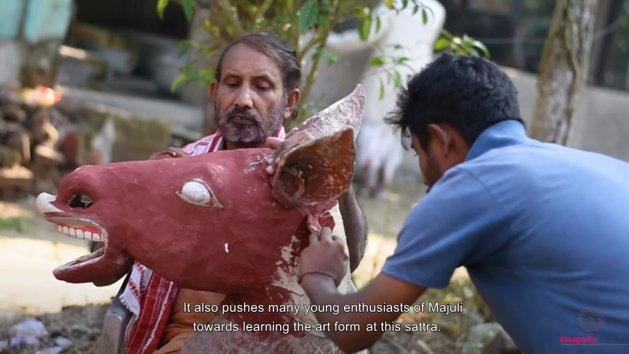 In conversation with Hem Chandra Goswami on Mask Making in Assam