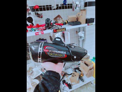 Cindy Motor Shop - Benelli BN302 test bô Yoshimura Alpha