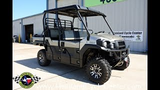 6. $16,999:  2018 Kawasaki Mule Pro FXT EPS Ranch Edition Overview and Review