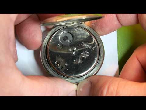 Junghans J10 Alarm pocket watch ringing