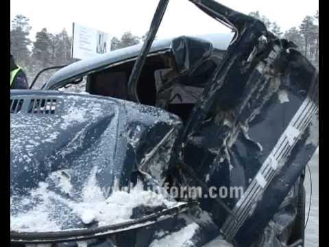 Под Сургутом произошло ДТП. Погиб водитель и 3-летняя пассажирка. . JOIN QUIZGROUP PARTNER PROGRAM: http://join.quizgroup.com/ .